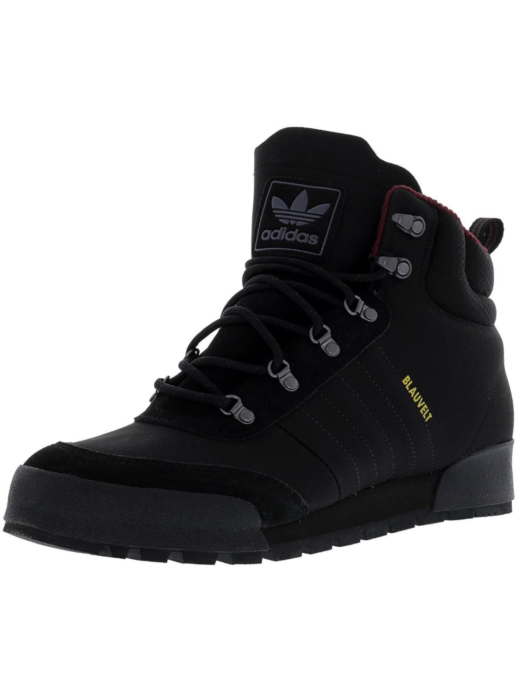 b96d1f97ab3e8 Lyst - Adidas Jake Boot 2.0 Core Black   Maroon Dark Solid Grey Mid ...