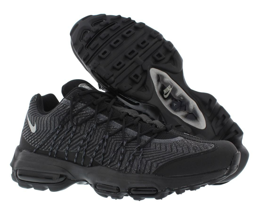 premium selection 4a533 96da8 Lyst - Nike Air Max 95 Ultra Jacquard Running Shoes Size 9 in Black ...