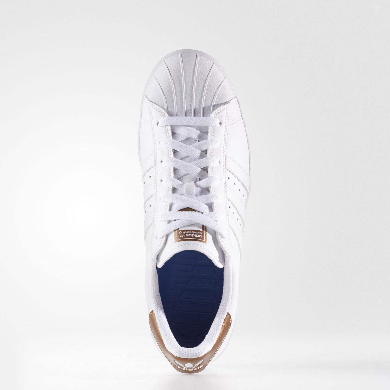 Lyst adidas superstar Vulc ADV ftwwht / coppmt / ftwwht skate zapatos 13