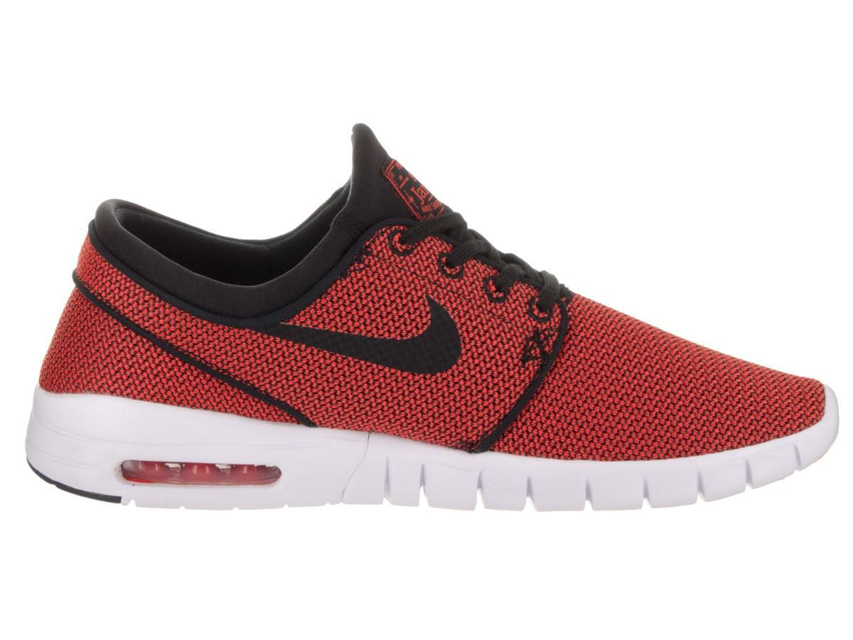 aeb0c076131 Lyst - Nike Stefan Janoski Max Black black Max Orange Skate Shoe 9.5 ...