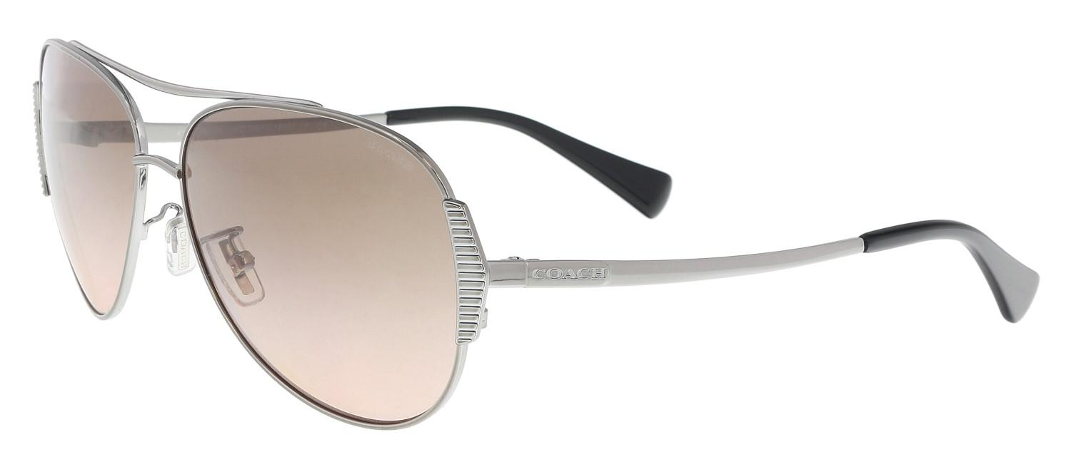 0432eed4cac21 ... norway coach. womens pink gradient aviator sunglasses da46e 89746