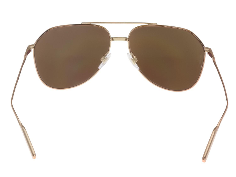 633d54951d45 Dolce & Gabbana 0dg2166 K03/5r Gold Aviator Sunglasses in Metallic ...