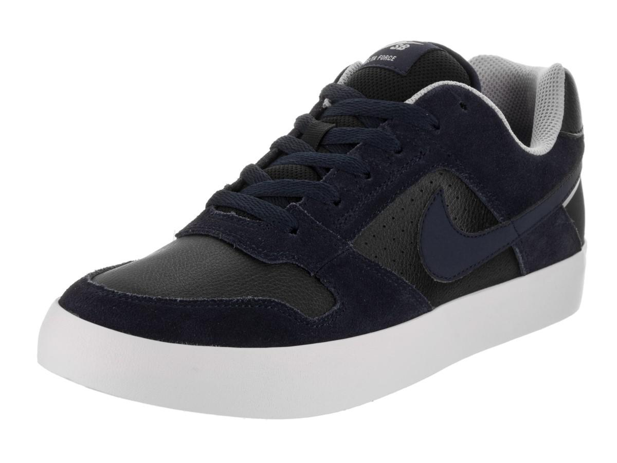 52fb46673cd Lyst - Nike Sb Delta Force Vulc Obsidian obsidian Black Skate Shoe ...