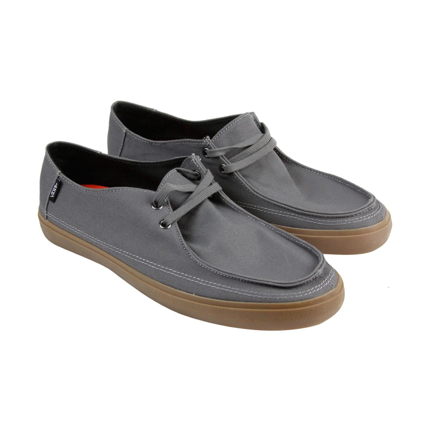 3512a98b2bc5 Lyst - Vans Rata Vulc Sf Pewter Gum Mens Casual Dress Boat Shoes in ...