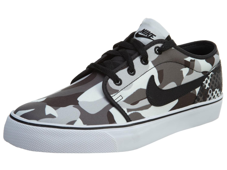 64a371b0cbaf Lyst - Nike Toki Low Txt Print White black dark Grey wlf Grey Casual ...