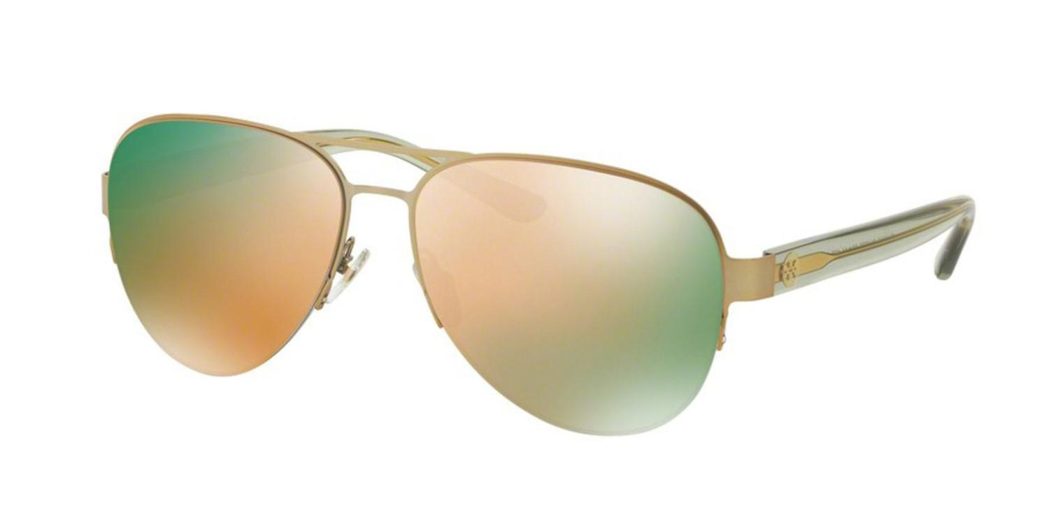 78e2608305 Lyst - Tory Burch Ty6048 Ty 6048 3146r5 Sunglasses 59mm in Green