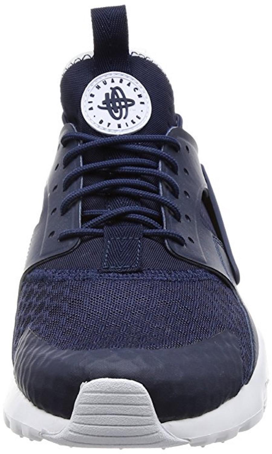 24d7134e5ae3f ... order lyst nike air huarache run ultra midnight navy obsidian white  0c6cb 3d645
