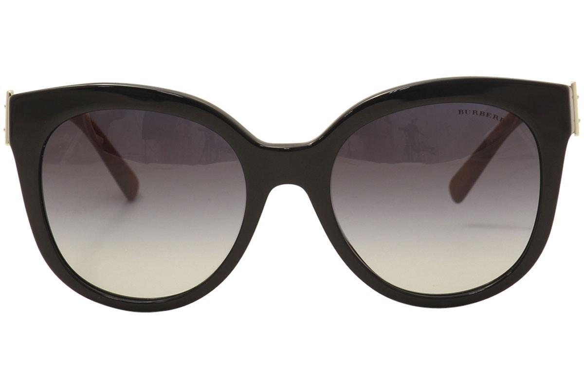 0e1db85570e Lyst - Burberry Be4243 Be 4243 36378g  havana Cat Eye Sunglasses ...