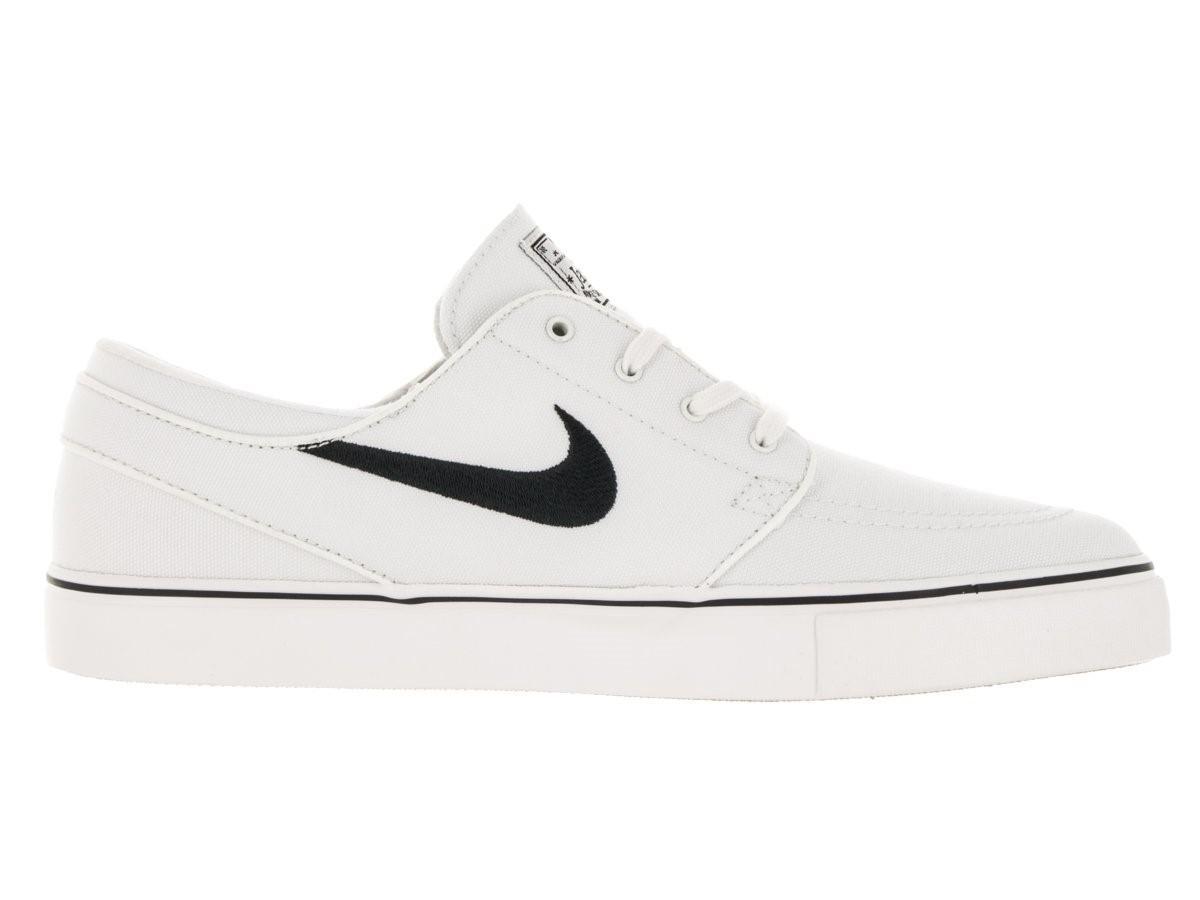 huge discount e40de ba9fe Nike 615957-100   Zoom Stefan Janoski Canvas Summit White black ...