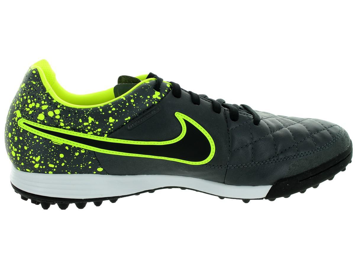 57acdbc30d0c Lyst - Nike Tiempo Legacy Tf Anthracite/black/volt Turf Soccer Shoe ...