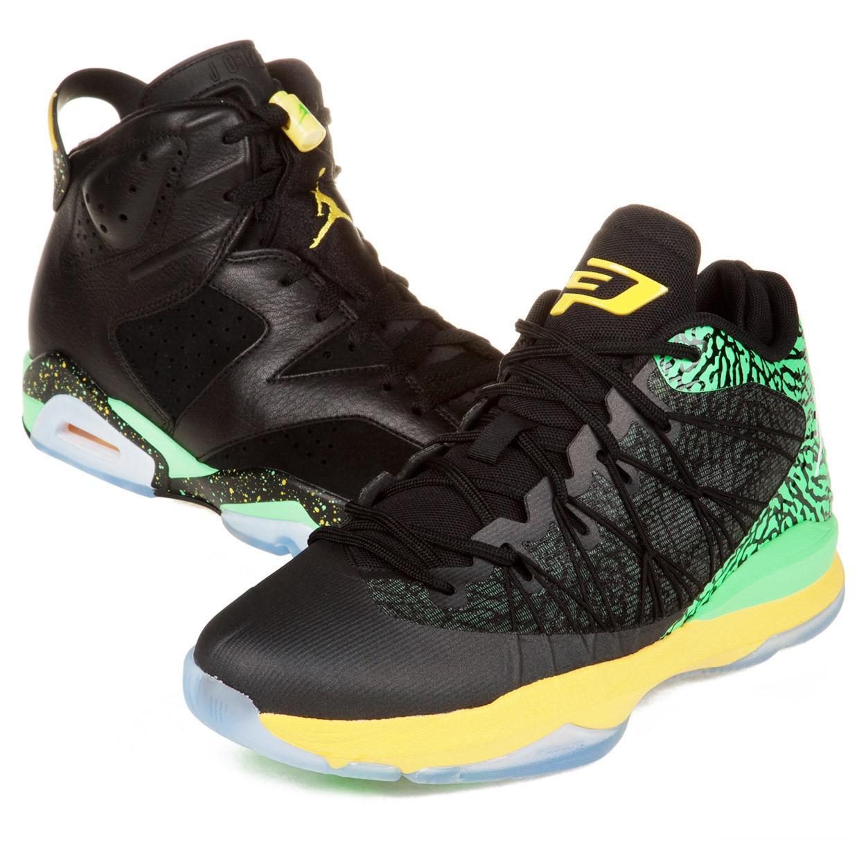 685ebcc9260 Lyst - Nike Mens Jordan Brazil Pack Black/green/yellow 688447-920 ...