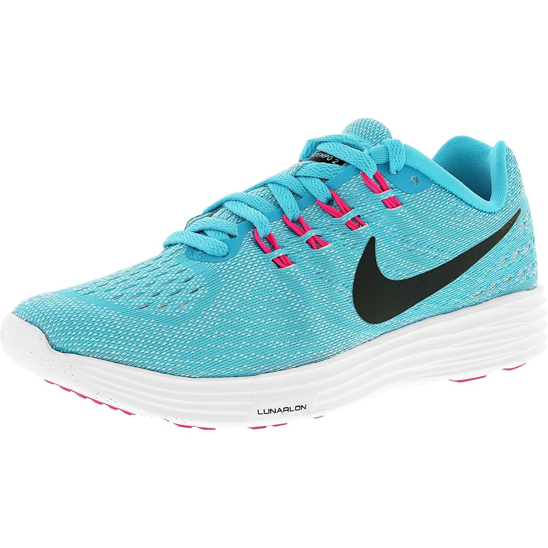 5b0e0add1fc3 Lyst - Nike Lunartempo 2 Gamma Blue black-white-pink Blast Ankle ...