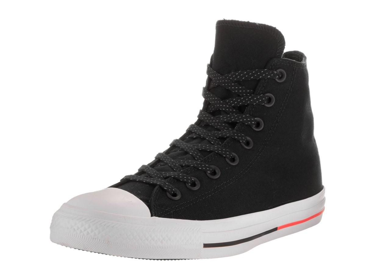 Lyst - Converse 153792f  Chuck Taylor All Star Hi Black white lava ... cd026671b