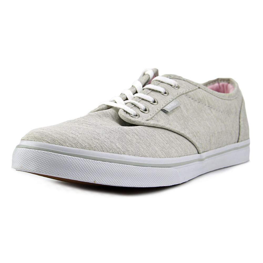 c3ea19364843e4 Lyst - Vans Atwood Low Men Round Toe Canvas Gray Skate Shoe in Gray ...