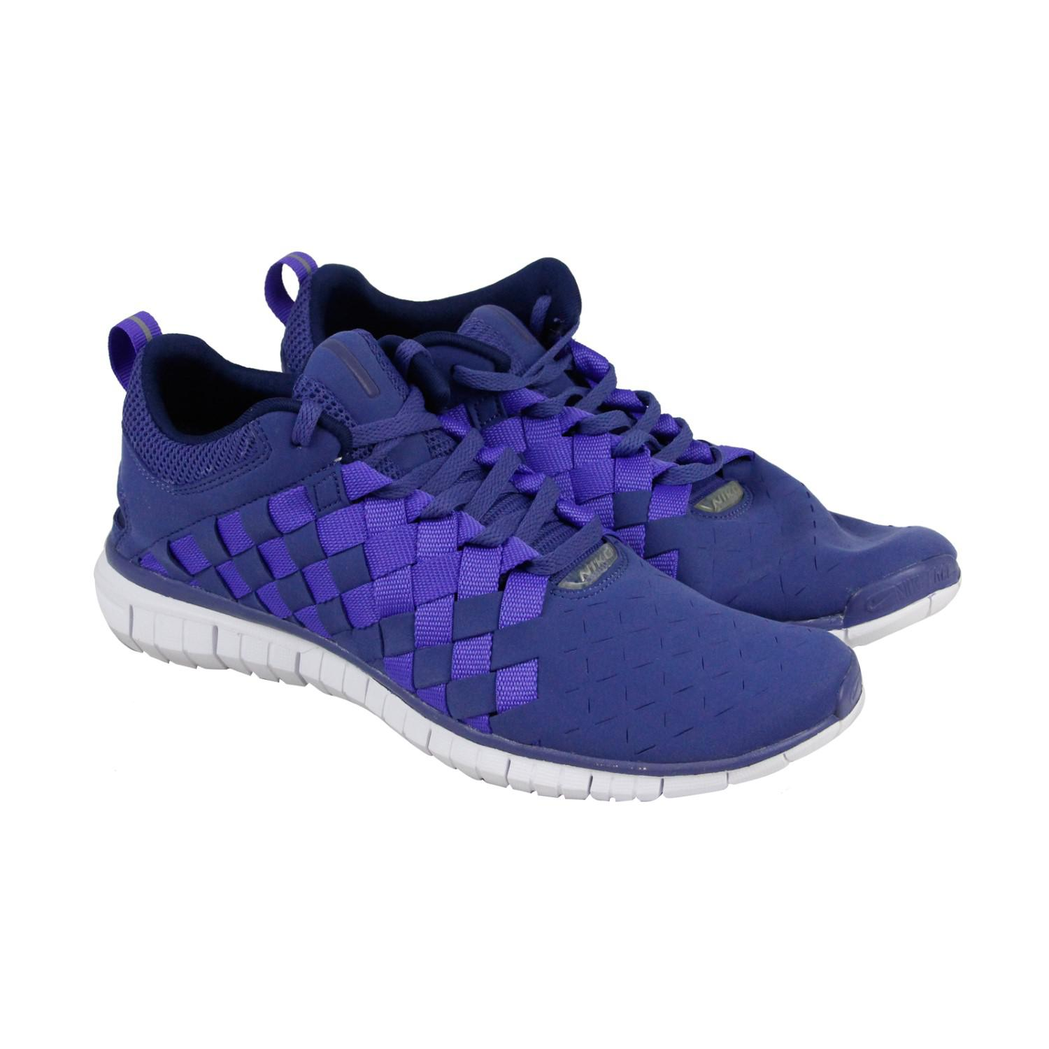 buy online a10b7 92abc Lyst - Nike Free Og 14 Woven Blue Legend  Persian Violet-mid