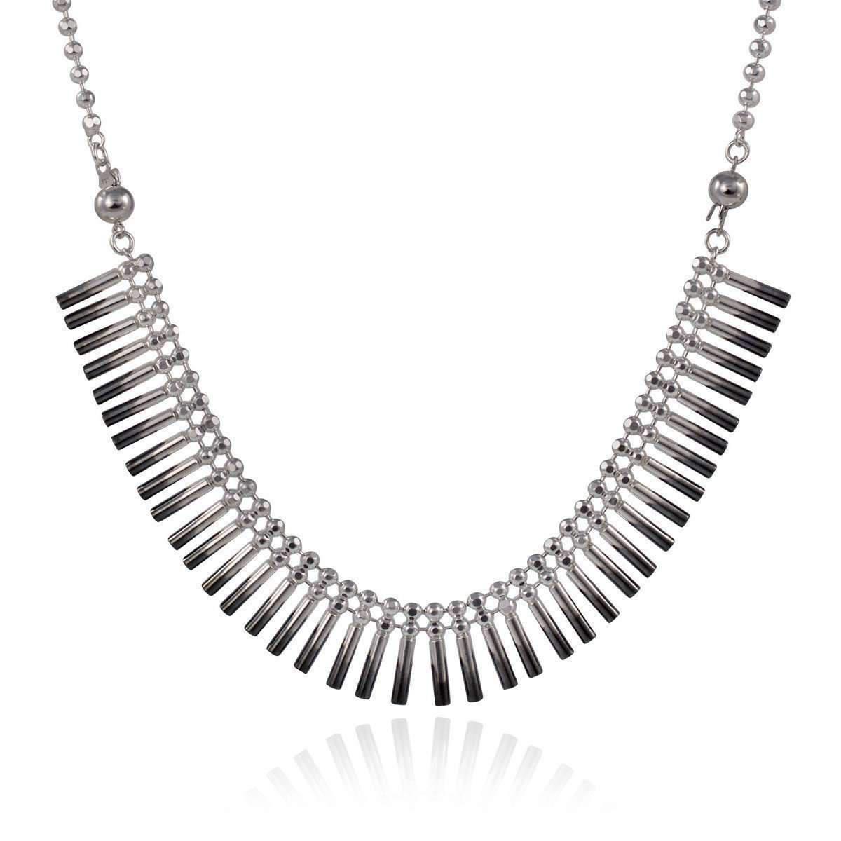 Cara Tonkin Silver Theda Cleo Collar O3si2m6