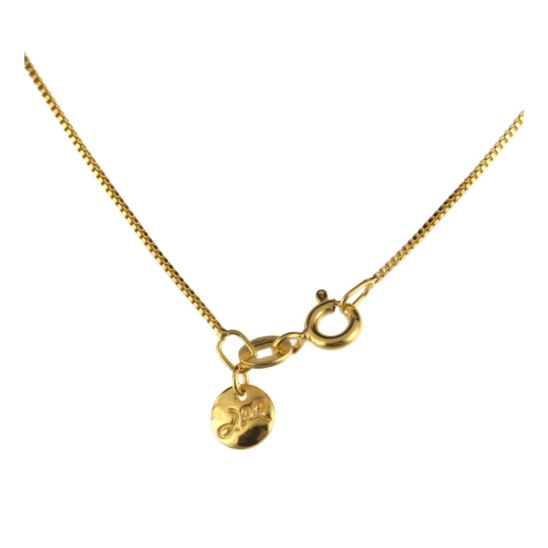 Jana Reinhardt Gold Plated Silver Hummingbird Necklace - 42cm