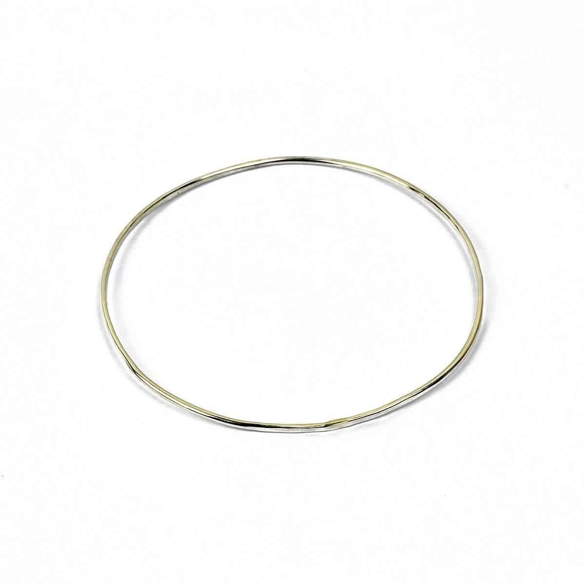 Fran Regan Jewellery Silver Egg Bangle 9SMMIPJT