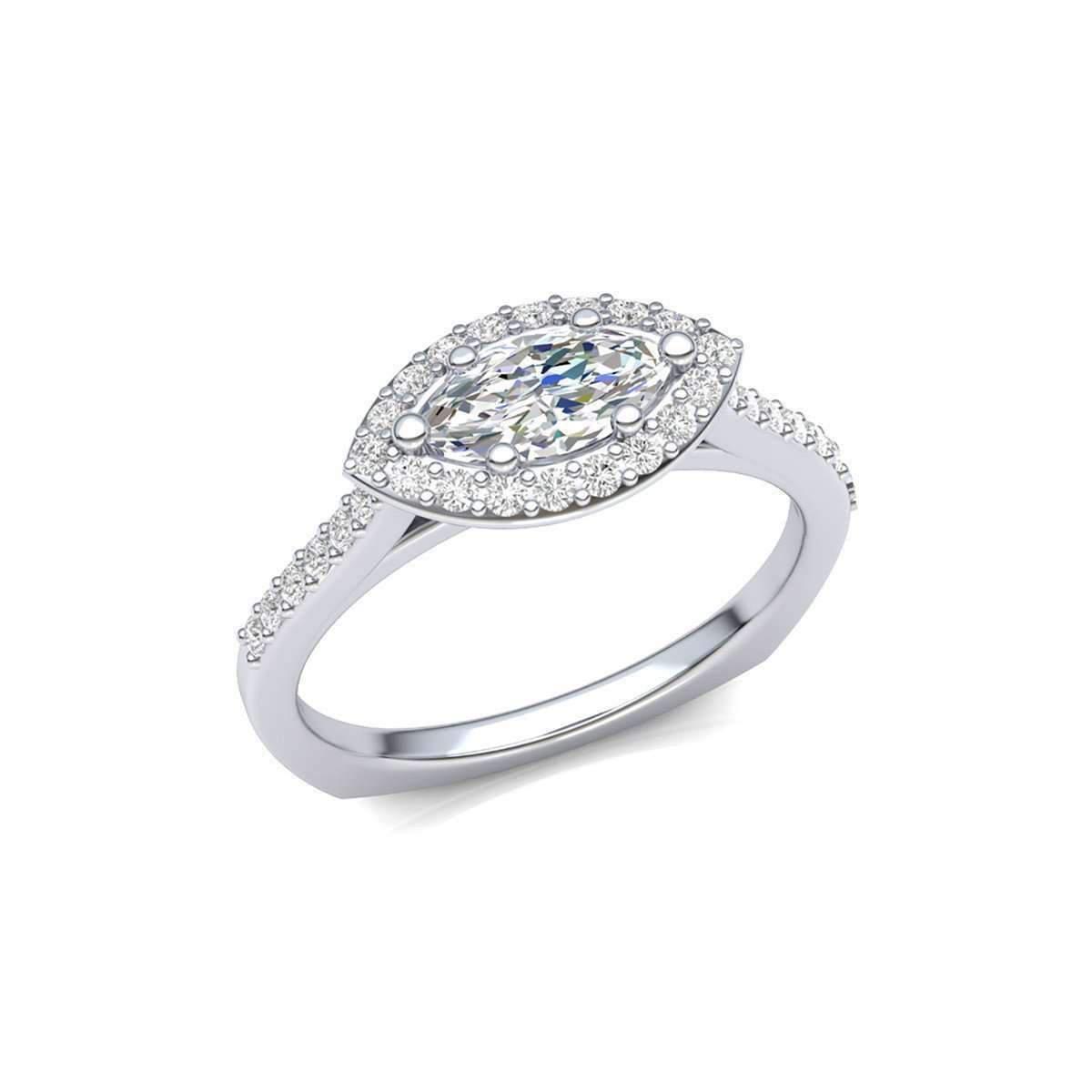 Harry Kotlar Marquise Ring - UK N - US 6 1/2 - EU 54 2bSzi