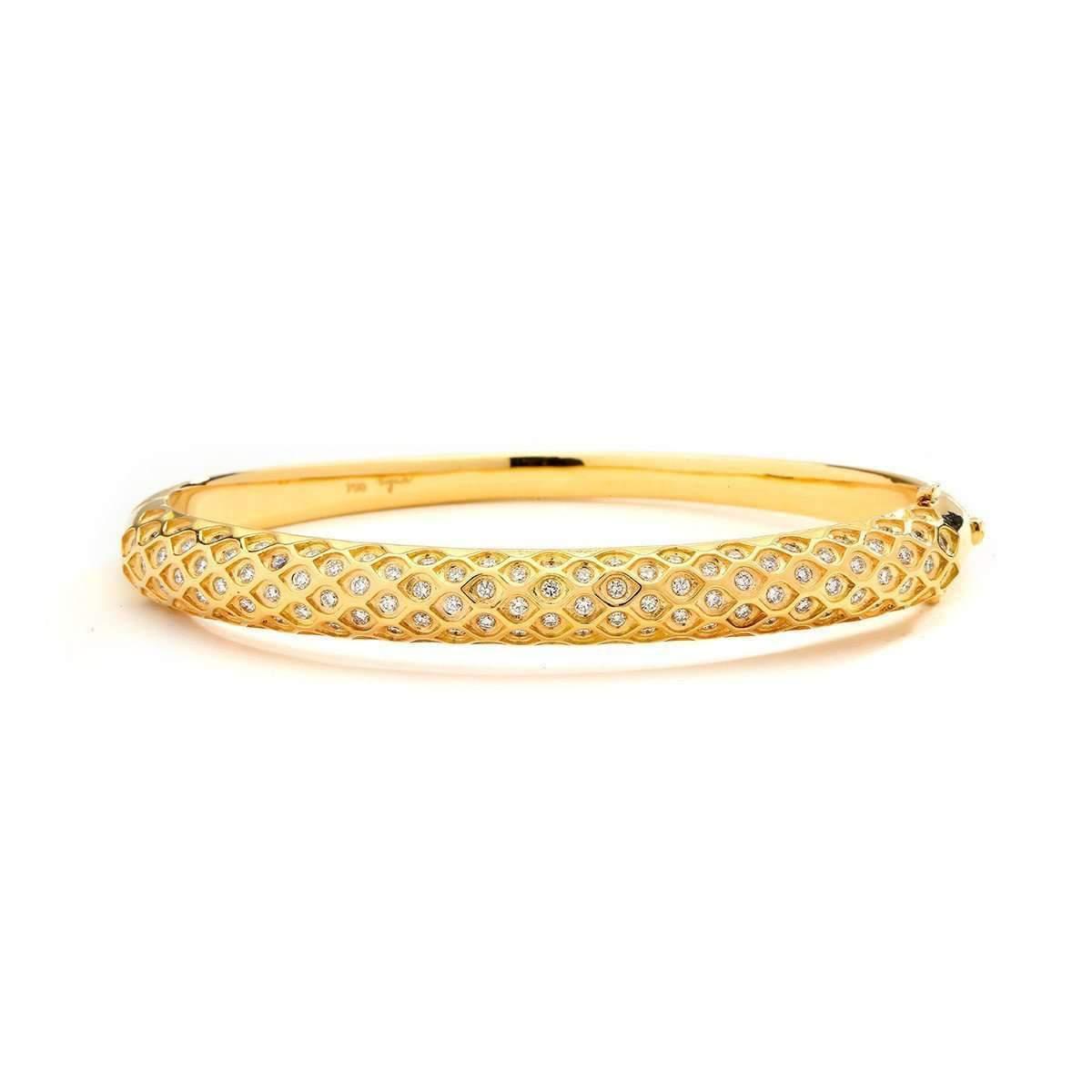 Syna 18kt Mogul Bracelet With Diamonds MYRNocuKo