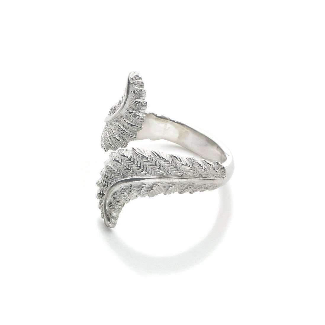 Patience Jewellery Fern Ring VM - UK L - US 5 1/2 - EU 51 3/4 SAxO4