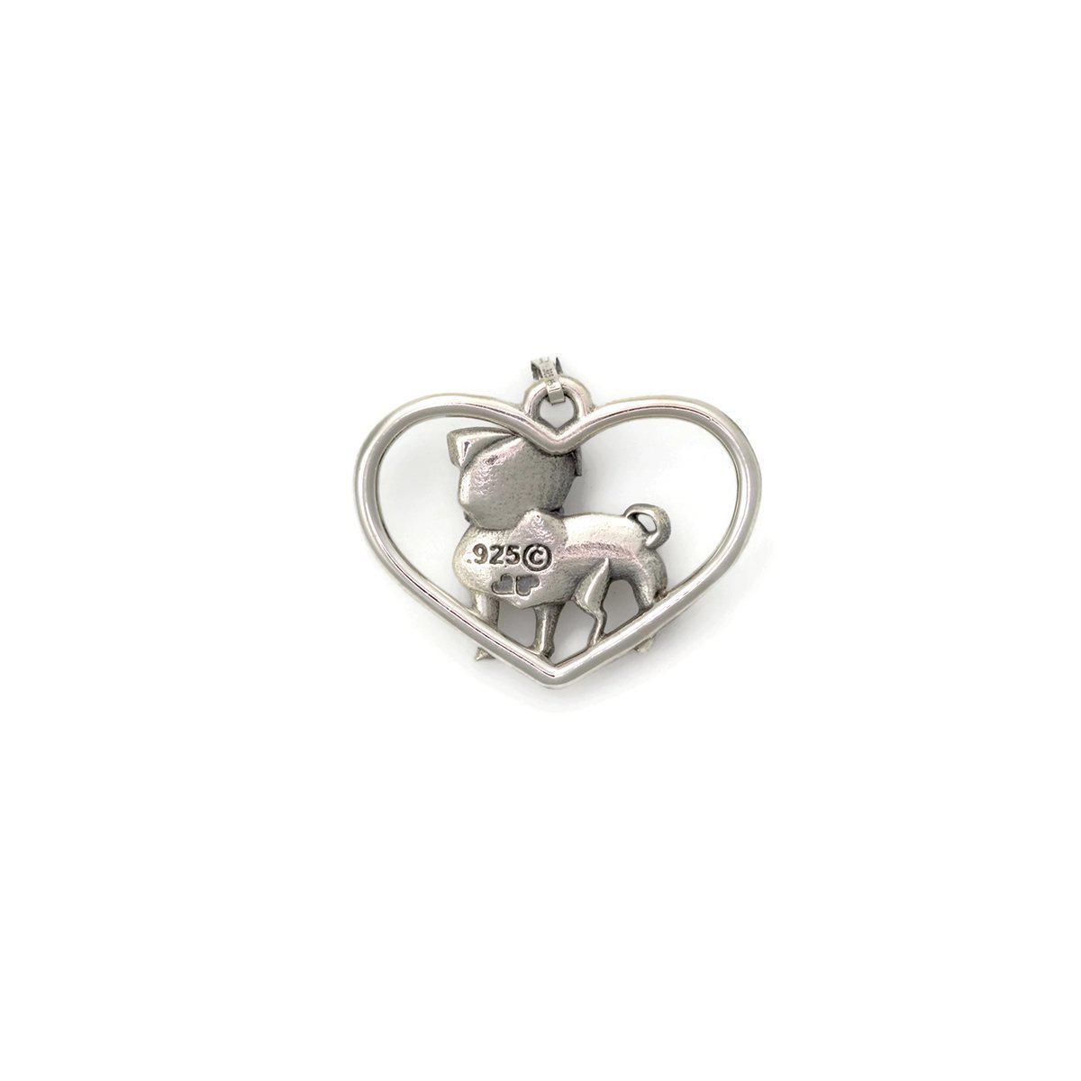 Donna Pizarro Designs Sterling Silver Pug Necklace - Boy xrGRbX5tw