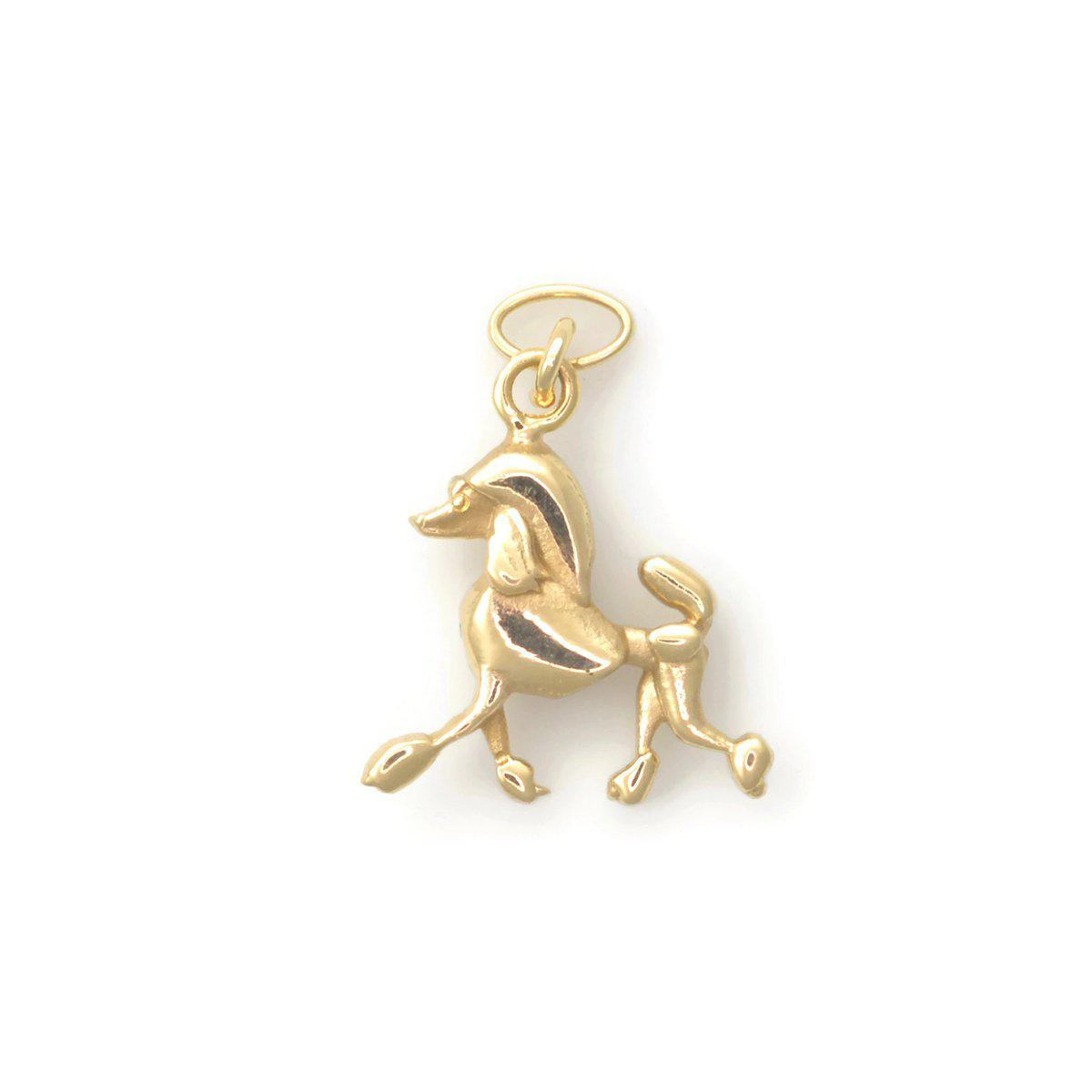 Donna Pizarro Designs 14kt Yellow Gold Poodle Charm Strutt Your Stuff BaCAy6N