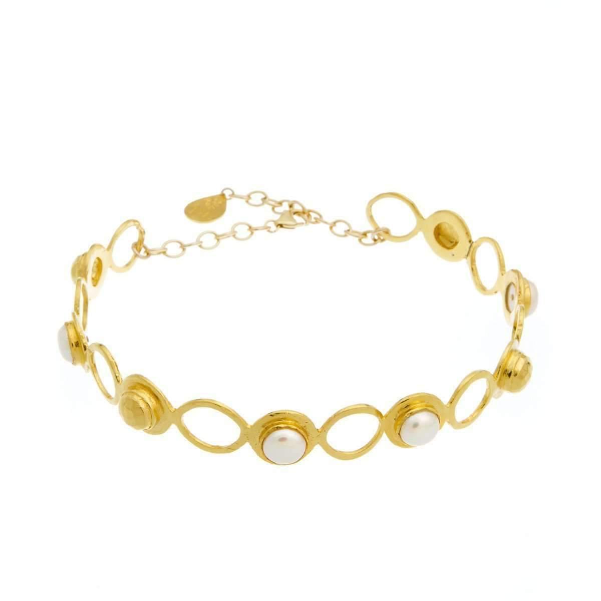 Devon Leigh Golden Coin Charm Bracelet aYiSg