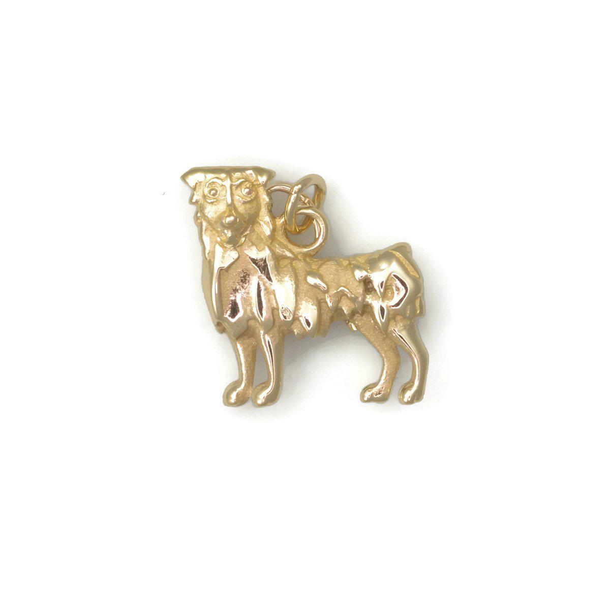 Donna Pizarro Designs 14kt Yellow Gold Dog Paw Print Charm ABxuknhd9O