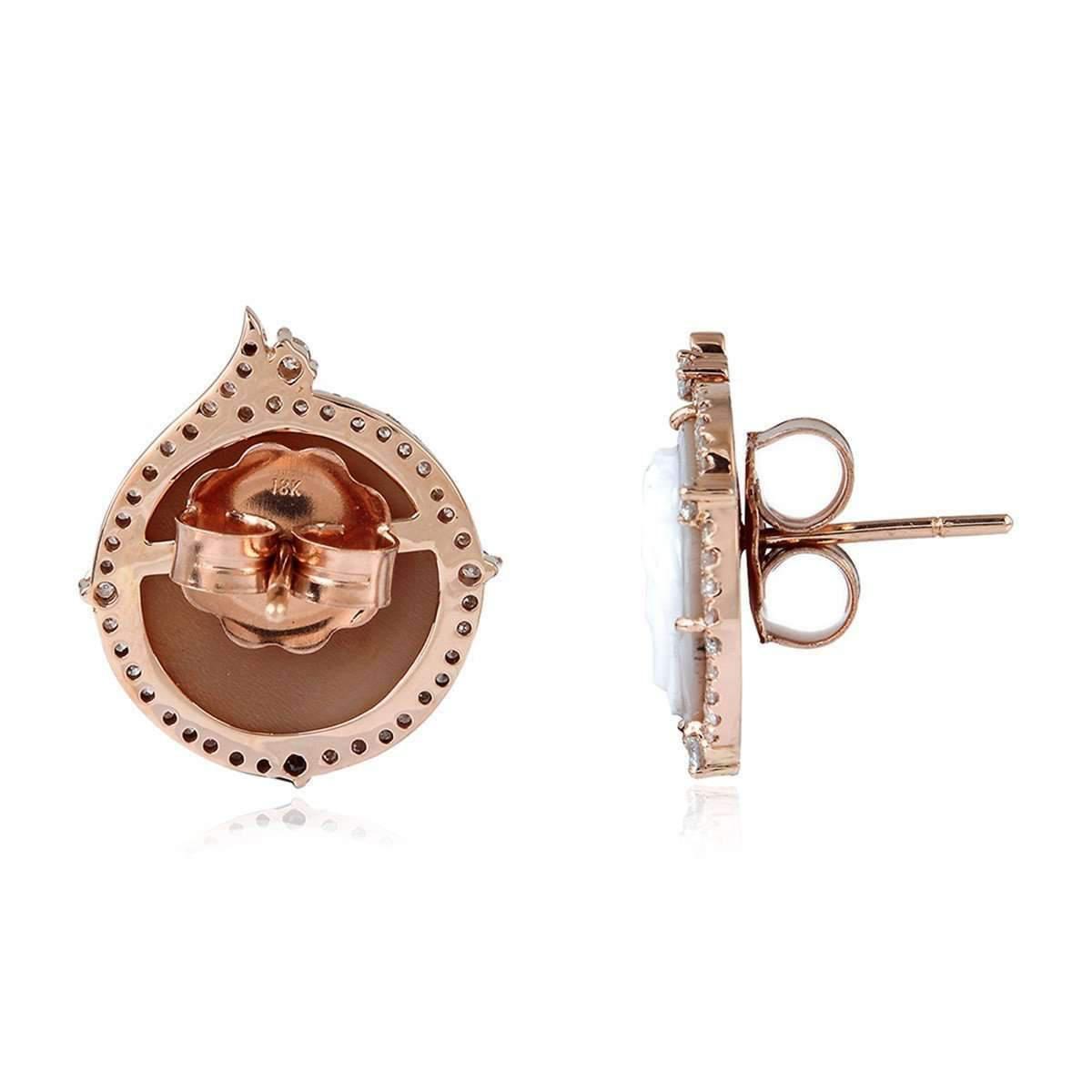 Socheec Marigold Stud Earring 5WrloFZ
