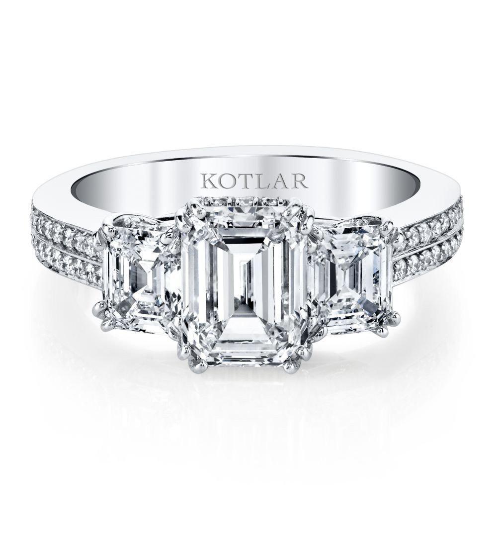 Harry Kotlar Marquise Ring - UK N - US 6 1/2 - EU 54 pIBO1b