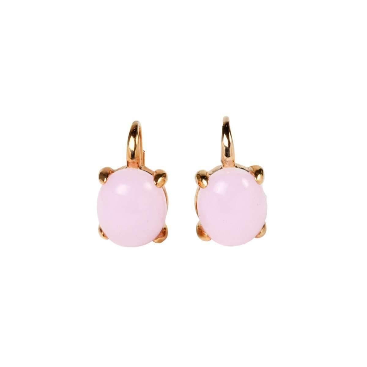 Rina Limor Sunrise Orange Color Crystal Bubble Earrings 9siF8g