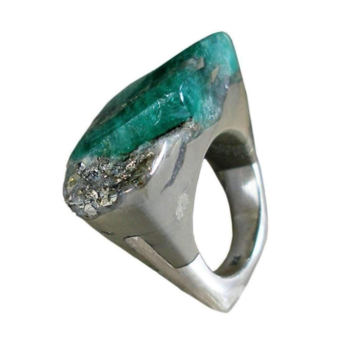 Pasionae Murano Ring - Hatred - UK N - US 6 1/2 - EU 54