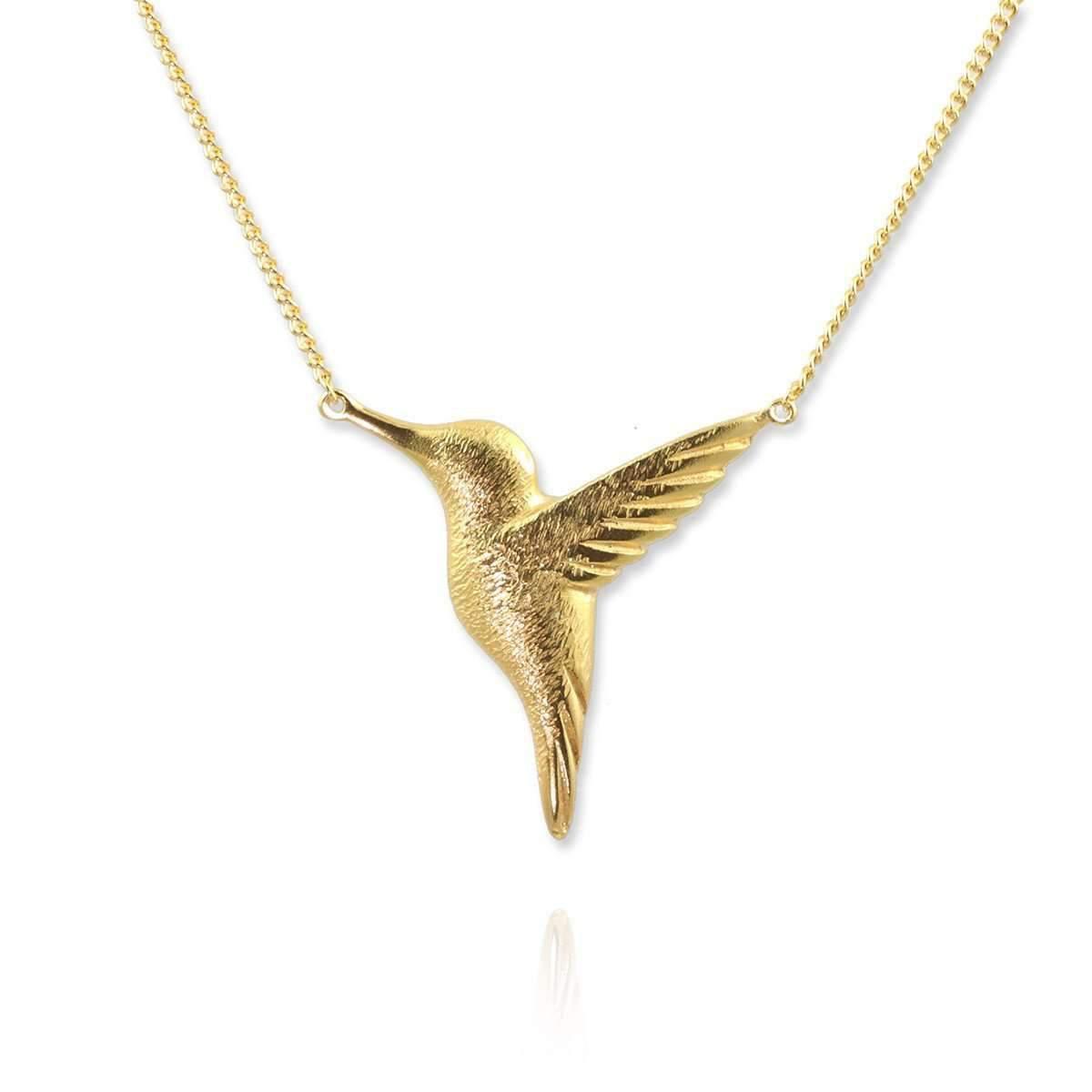 Jana Reinhardt Small Sterling Silver Hummingbird Necklace efraR43MwP