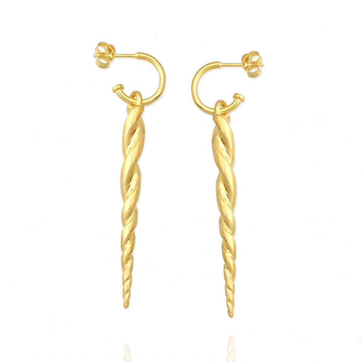 Jana Reinhardt Yellow Gold Plated Toucan Earrings vskQz0zmMH
