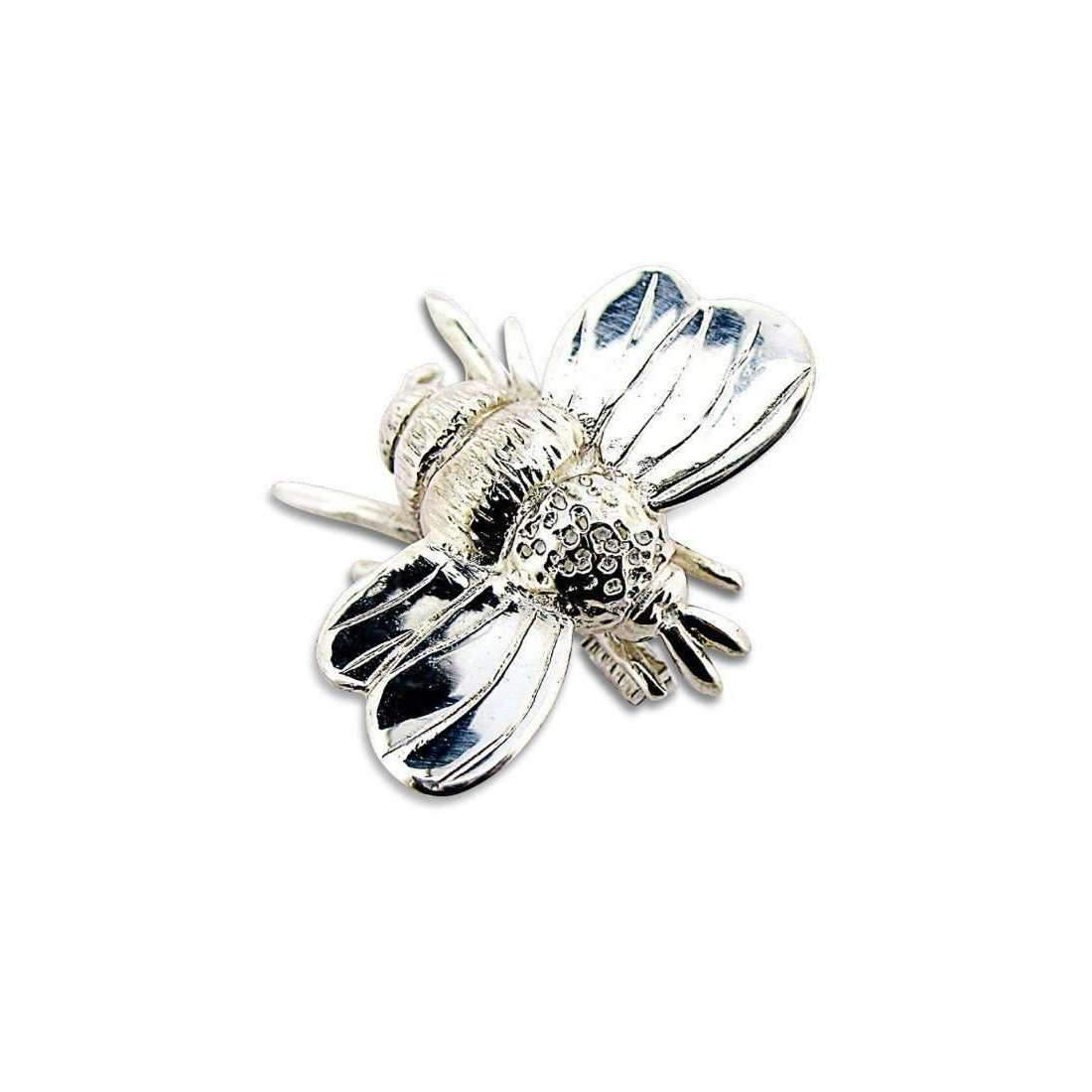 Will Bishop Silver Bumble Bee Brooch w4HlLdkRP