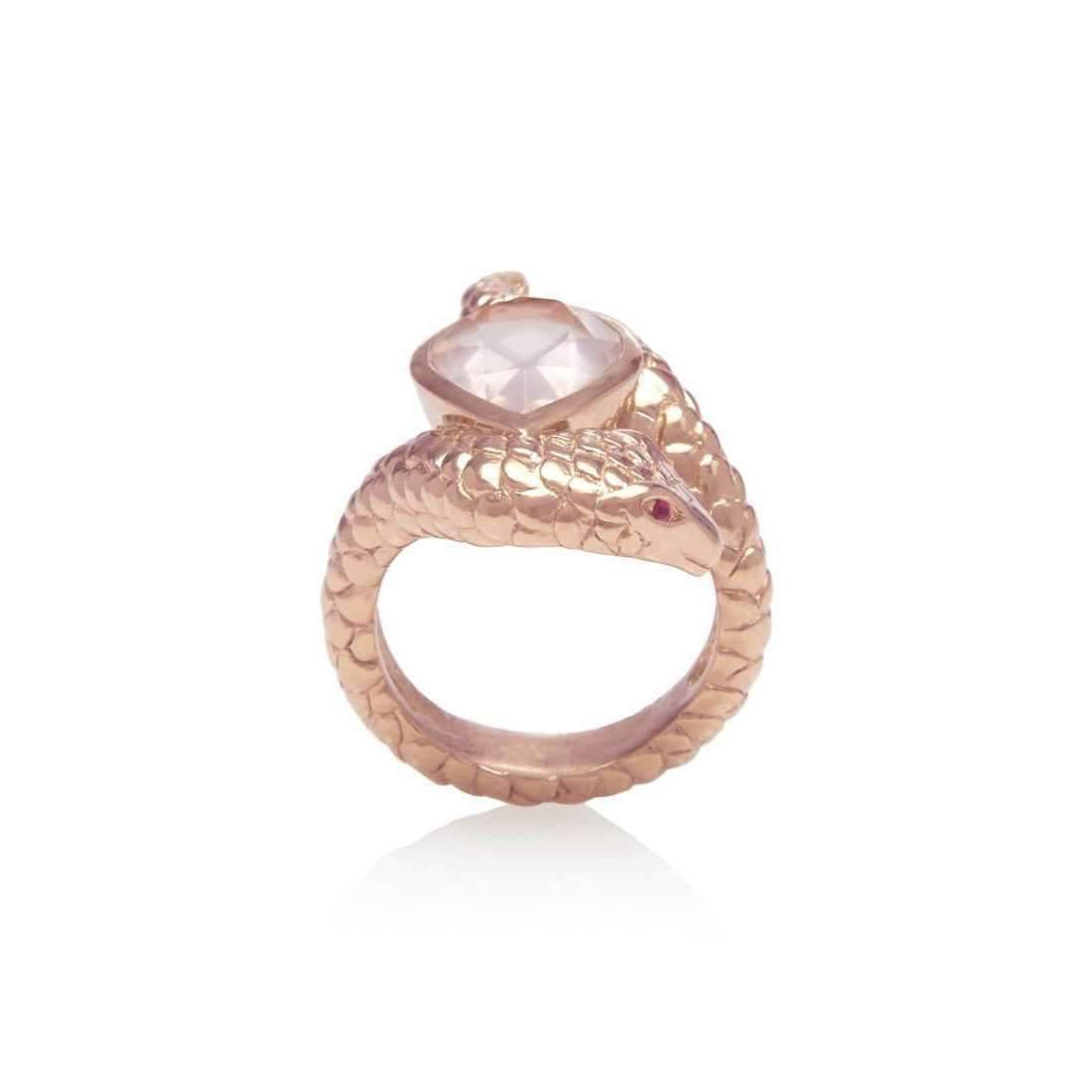 Alexandra Alberta Heliconia Chalcedony Ring - UK L - US 5 1/2 - EU 51 3/4 c1pP5W