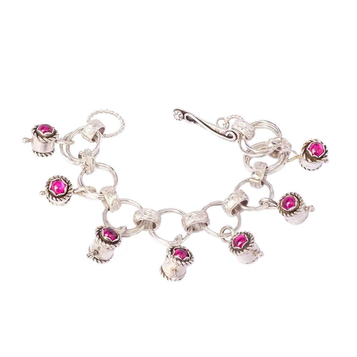 41ae2ad34fa Lyst - Sandra Anne Designs Ruby Charm Bracelet in Metallic