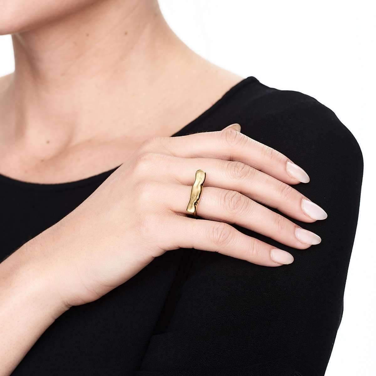 Deborah Blyth Jewellery Wave Ring - UK U - US 10 1/4 - EU 62 3/4 YKHeHxW