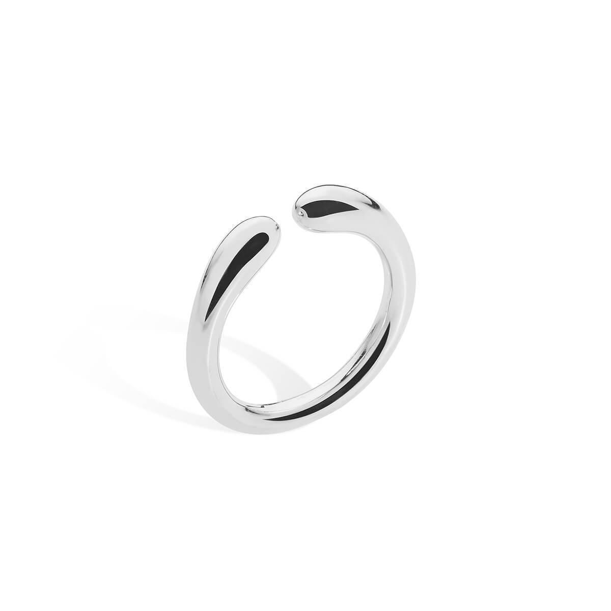 Lucy Quartermaine Curve Midi Ring - UK G - US 3 3/8 - EU 45 1/4 iaHxtnOtFI