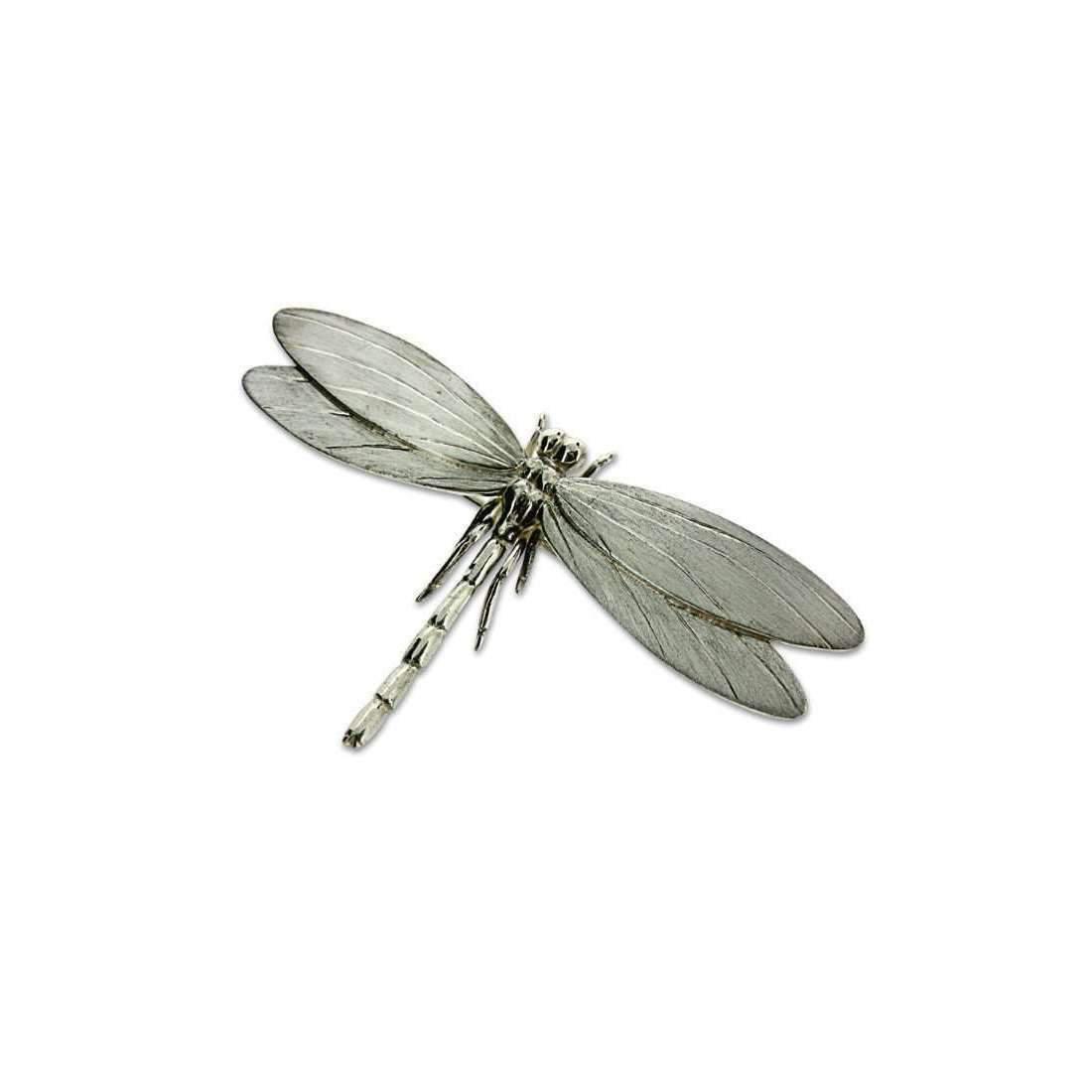Will Bishop Gold Vermeil Dragonfly Brooch GRwaz3Q3i
