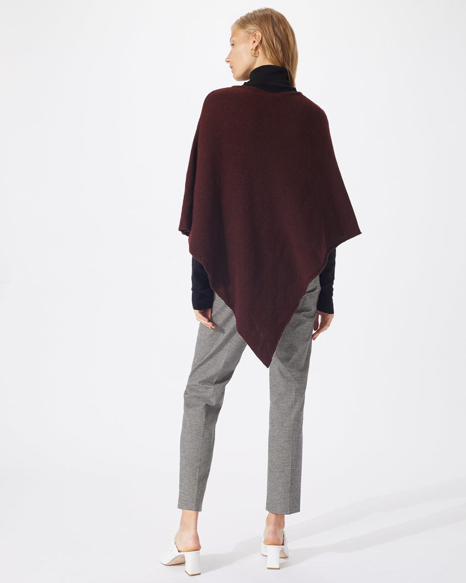 a5dc7e42e Jigsaw Wool Cashmere Blend Rolled Poncho - Lyst