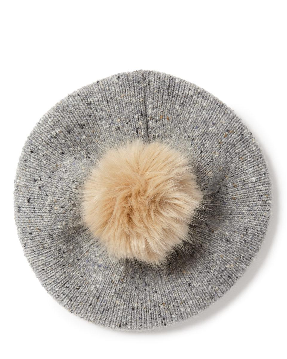 Jigsaw Donegal Beret Pom Hat in Gray for Men - Save 36% - Lyst 43ca9845ec2e
