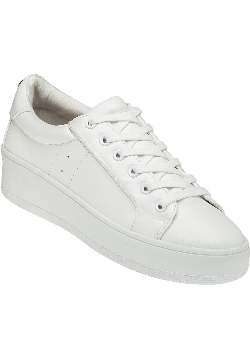 7ccc729d13d Lyst - Steve Madden Bertie White Sneaker in White