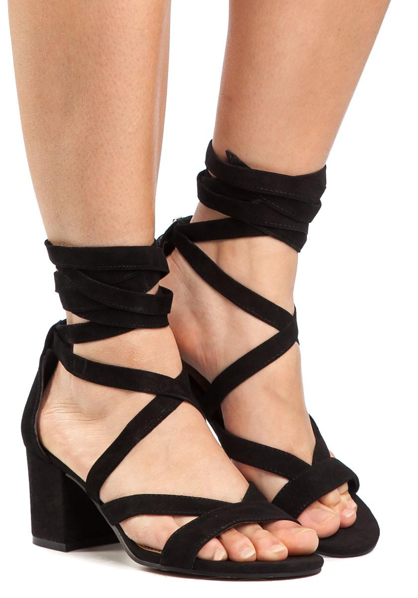 4d5ec2b12f3 Lyst - Sam Edelman Sheri Sandal Black Suede in Black - Save 33%