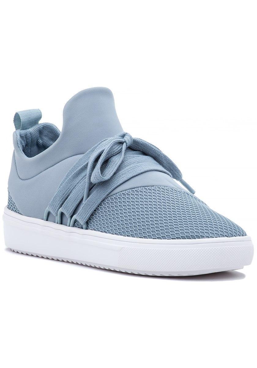 6c05c161b64 Steve Madden Lancer Sneaker Light Blue Fabric in Blue - Lyst