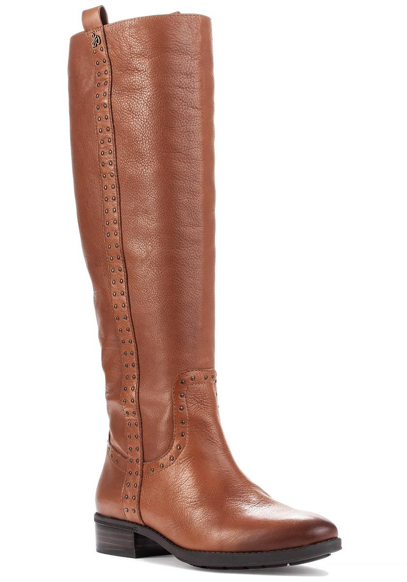 285f8b2e88a Lyst - Sam Edelman Prina Boot Whiskey Leather in Brown