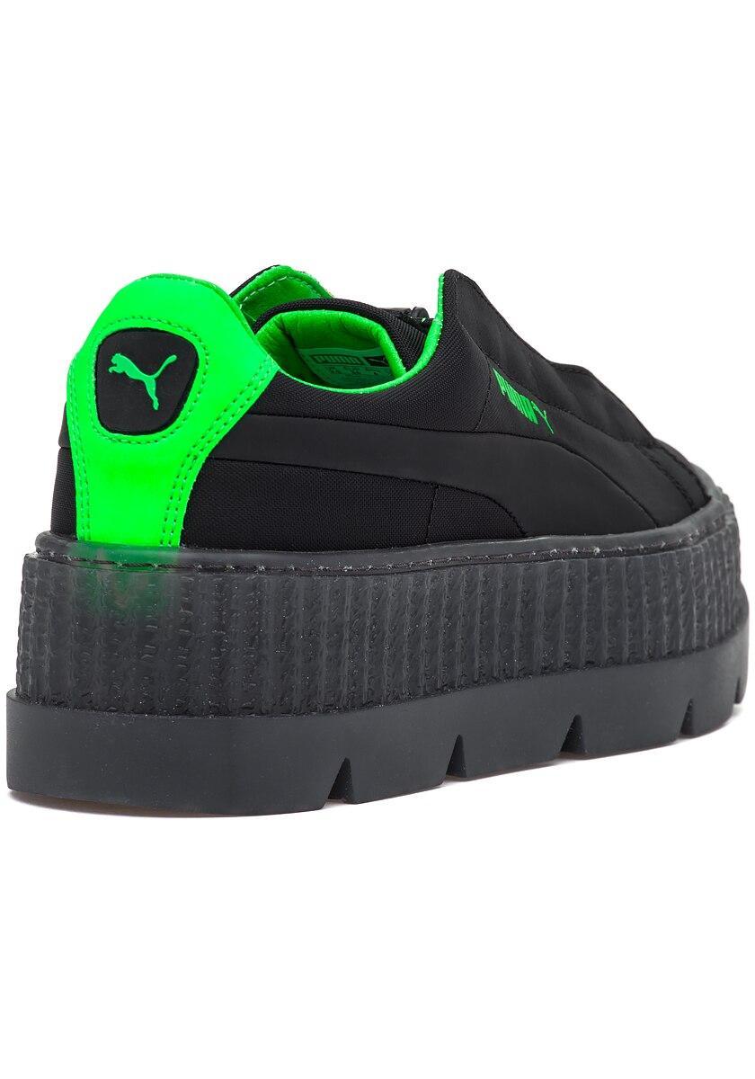 huge selection of f94ba 1b69f Women's Fenty X Puma Cleated Creeper Sneaker Black-green Gecko
