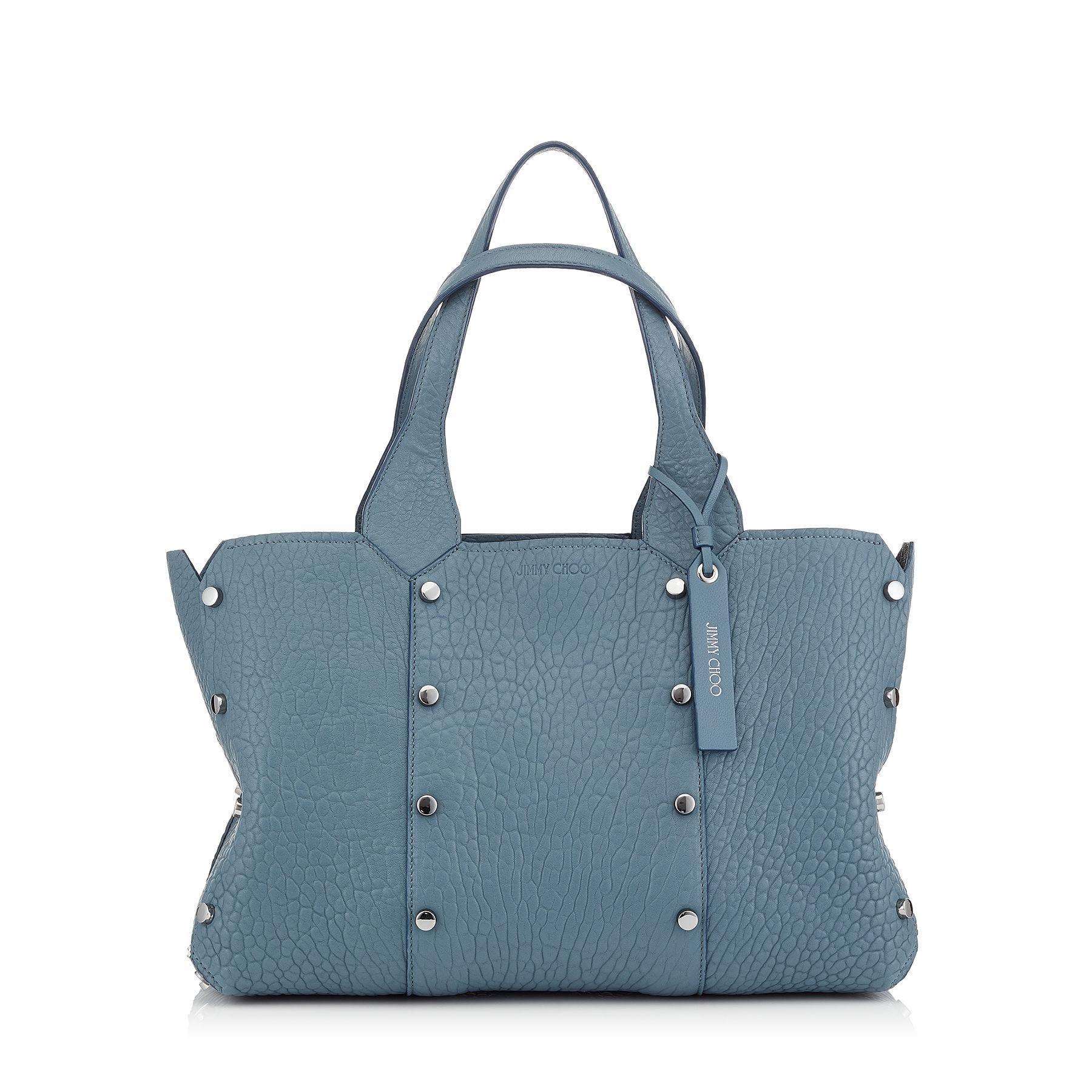 dea0173973ff Lyst - Jimmy Choo Lockett Shopper s in Blue