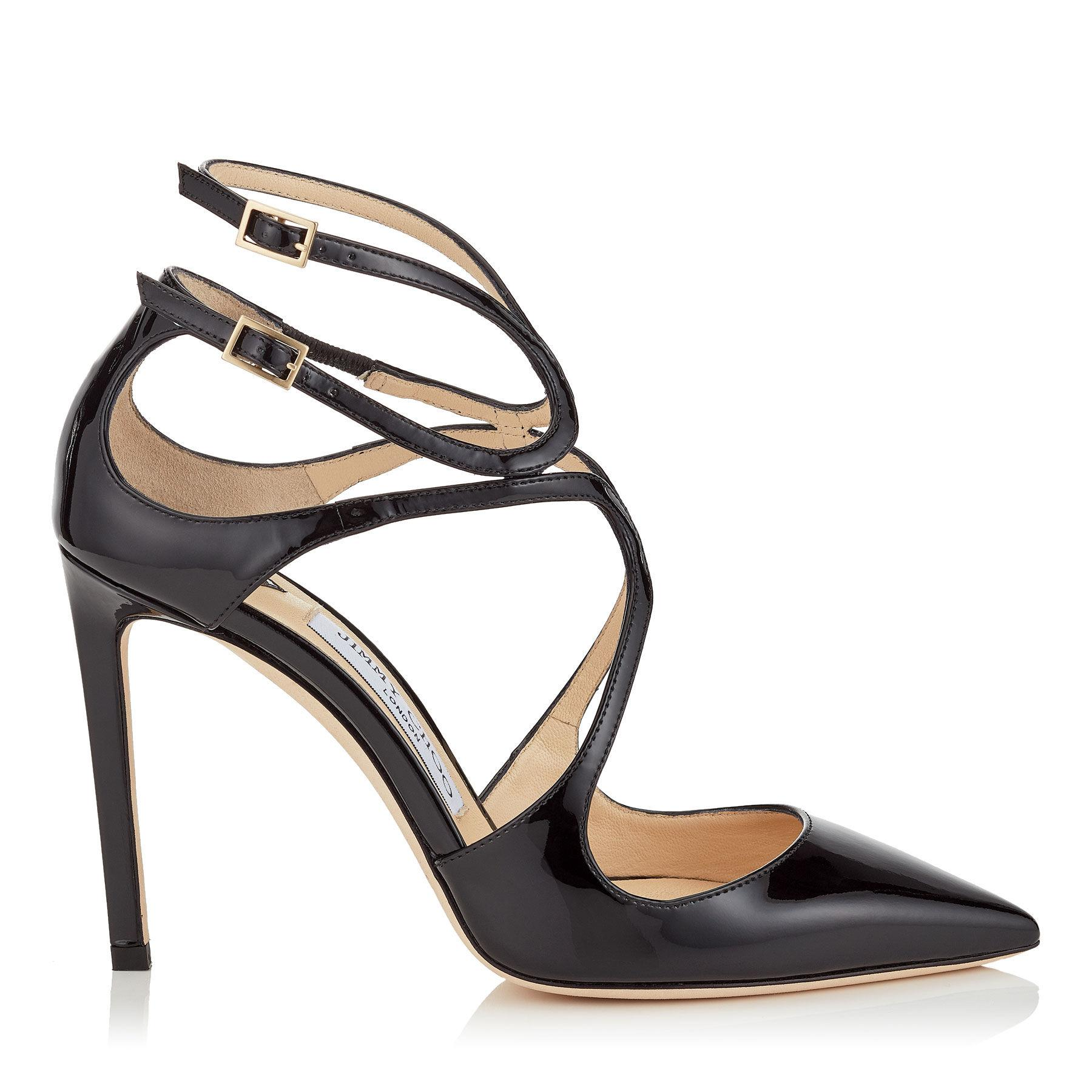 Jimmy Choo Black Suede Lancer 100 Heels outlet store sale big sale pay with visa online discount low shipping fee cheap sale looking for G4eWIVBu0